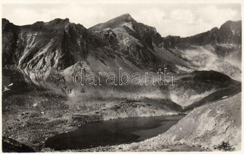 Tatra, Hincové pleso / lake, Tátra, Hincói-tó