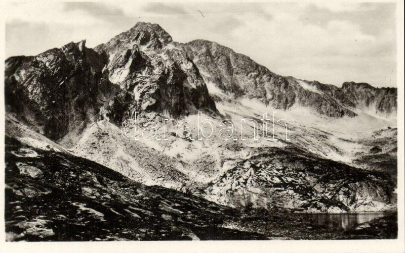 Tatra, lake, mountain peak, Tátra, Öt-tó és Jégvölgyi csúcs