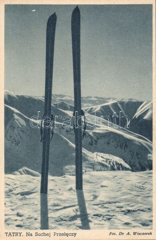 Tatry, Suchej Przeleczy / pass, ski