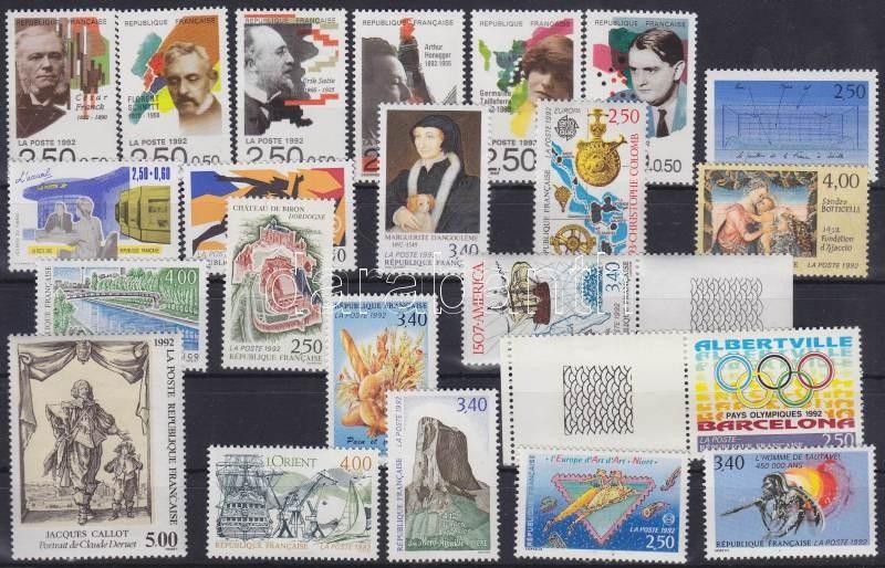 22 diff. stamps 22 klf bélyeg