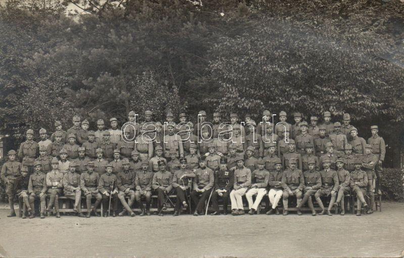 Lucenec, military group photo, Losonc, katonai csoportkép photo