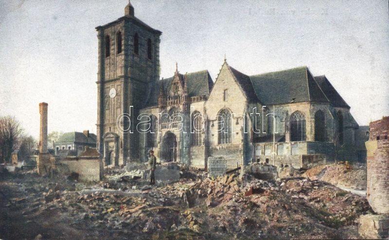 Rethel, Kirche / church with ruins