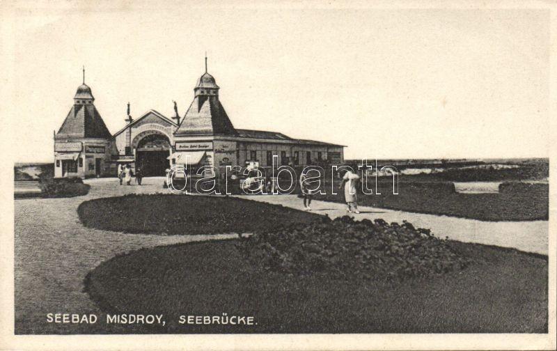 Miedzyzdroje, Misdroy; Seebrücke / bridge