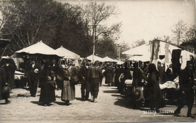 Plovdiv, Philippople; Marche / market place