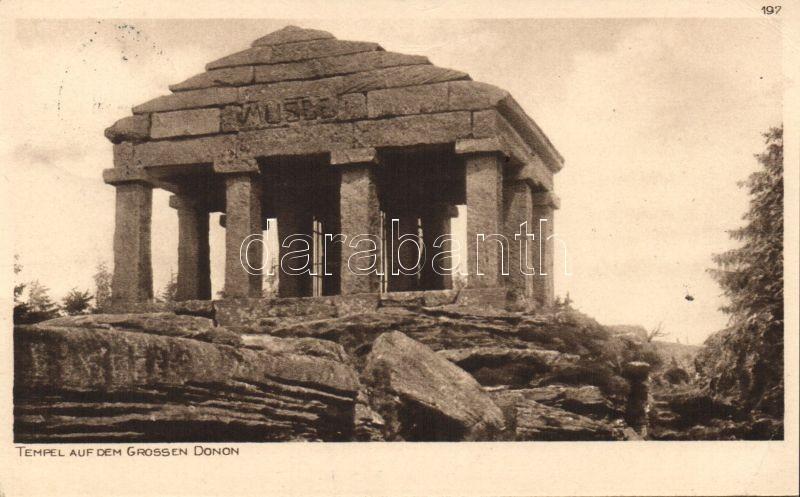 Mount Donon, temple