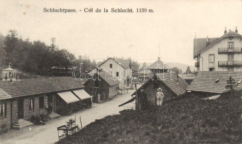 Col de La Schlucht, Schluchtpass