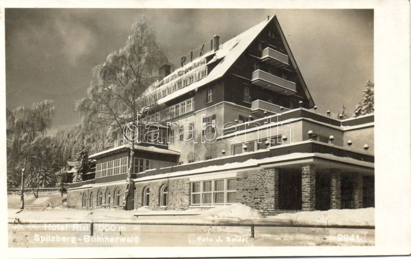 Sumava, Spitzberg; Hotel Rixi