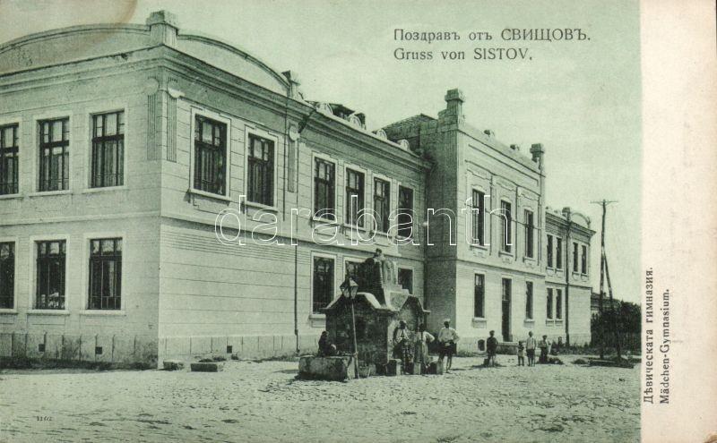 Svishtov, Sistov; Mädchen Gymnasium / girls school