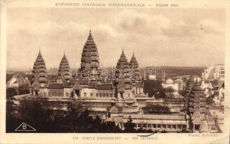 1931 Paris, Exposition Coloniale Internationale, Temple d'Angkor-Vat