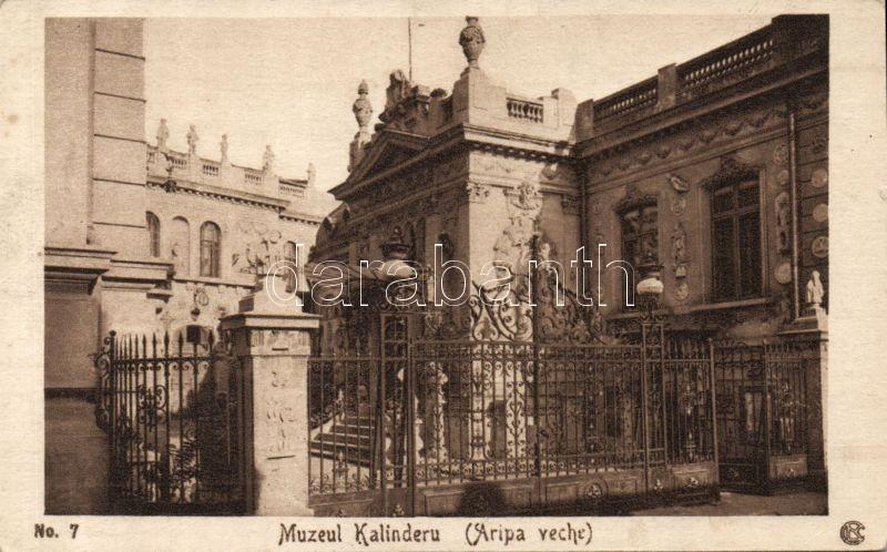 Bucharest, Muzeul Kalinderu / museum