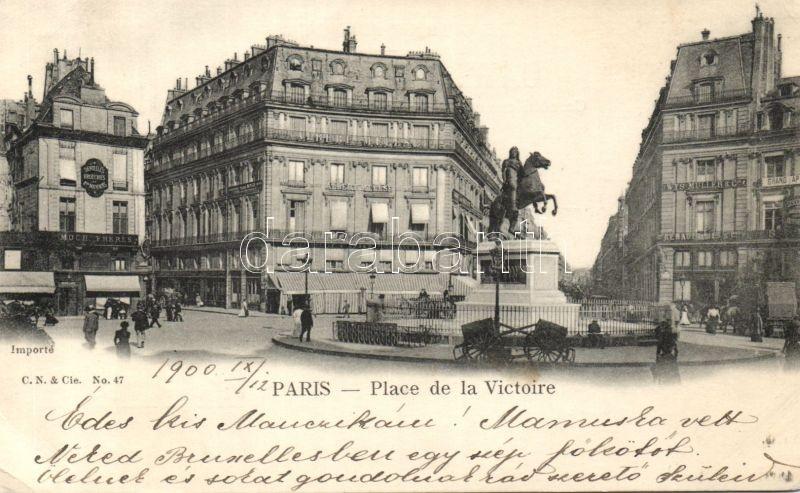 Paris, Place de la Victoire / Victory square
