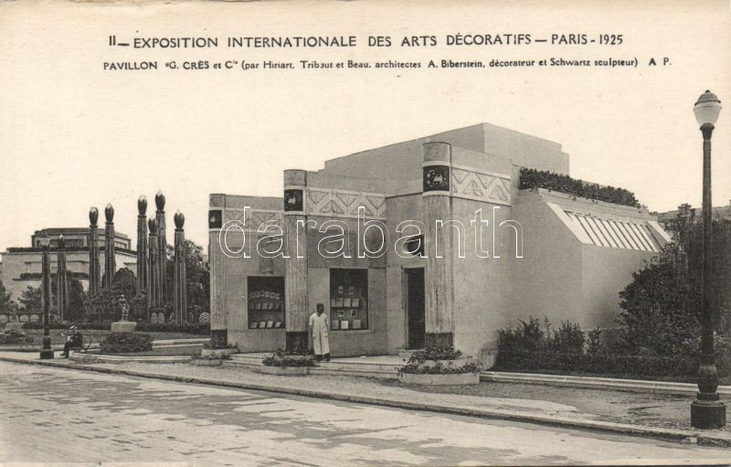 1925 Paris, Exposition Internationale des Arts Decoratifs / Decorative Arts Expo, Pavilion of G. Crés et Cie