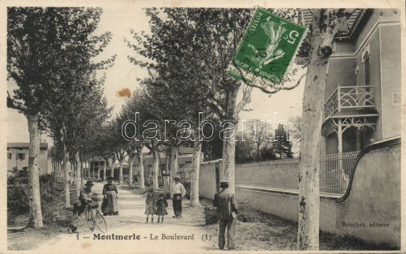 Montmerle, Le boulevard
