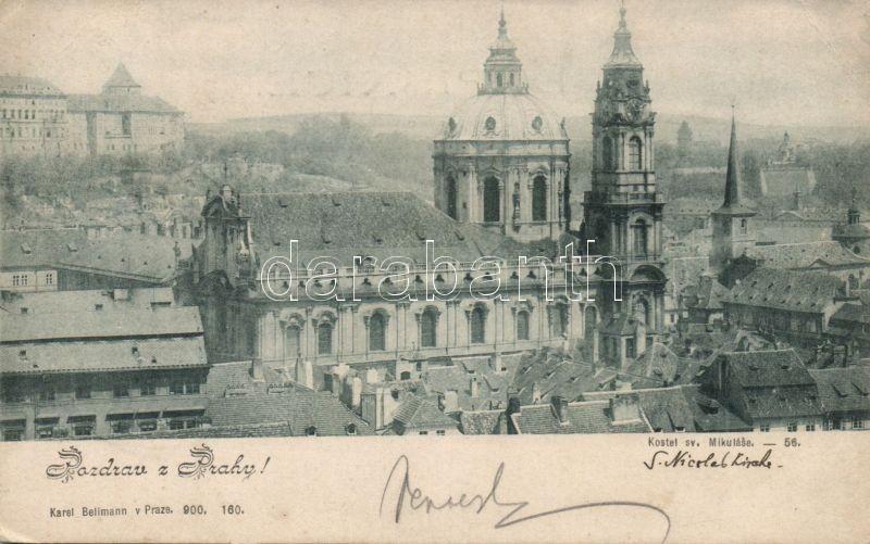 Praha, Prag; St Nicholas church