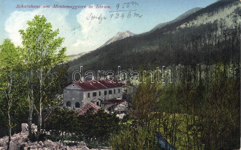 Montemaggiore d'Istria, Schutzhaus / rest house