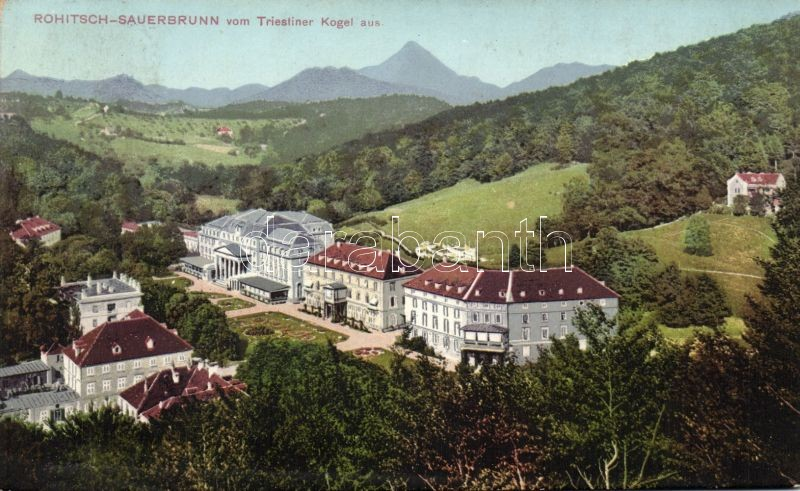 Rogaska Slatina, Rohitsch-Sauerbrunn; spa