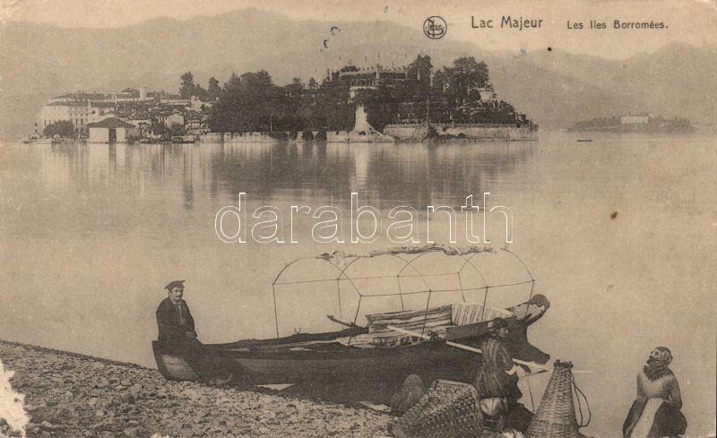 Lago Maggiore, Lac Majeur; Borromean Islands, boat
