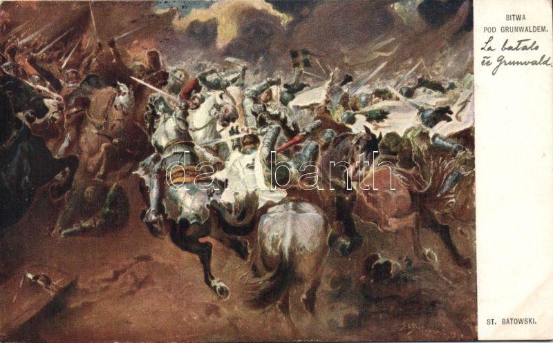 Bitwa pod Grunwaldem / The battle of Grunwald s: Stanislaw Batowski, Grunwald-i csata s: Stanislaw Batowski