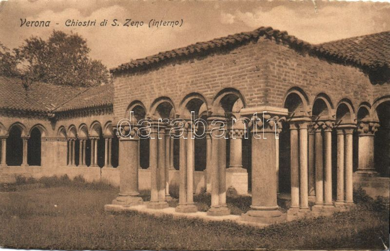 Verona San Zeno basilica yard