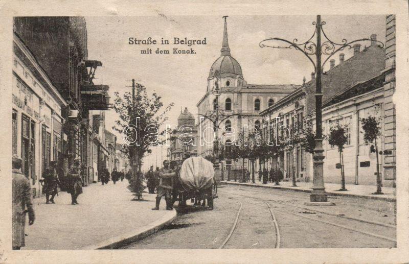 Belgrade, Strasse, Konak / street, palace