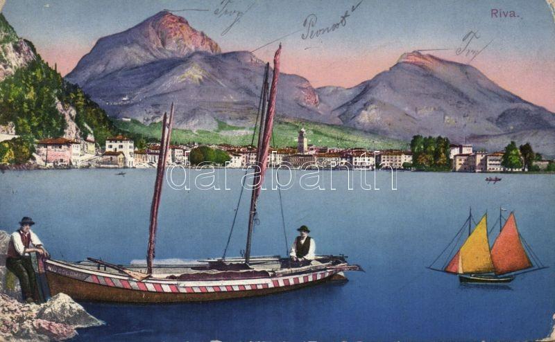 Riva del Garda, boat