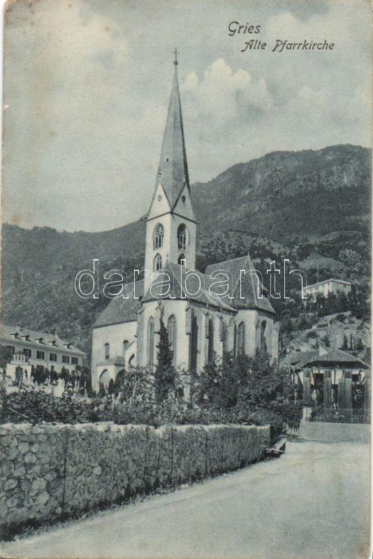 Bolzano, Bozen; Gries, Alte Pfarrkirche / old parish church