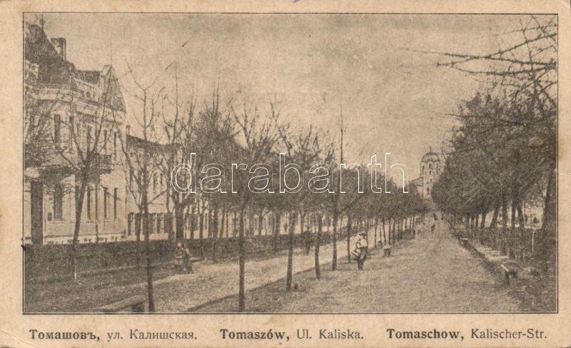 Tomaszów Kaliska street, Tomaszów, Kaliska utca
