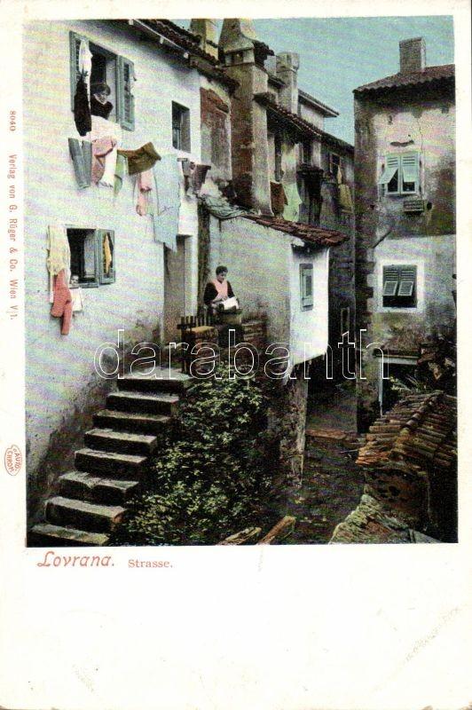 Lovran, block of apartments, Lovran, lakóházak