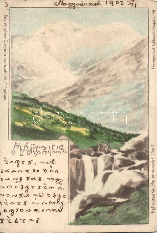 March, Március, Heliographie