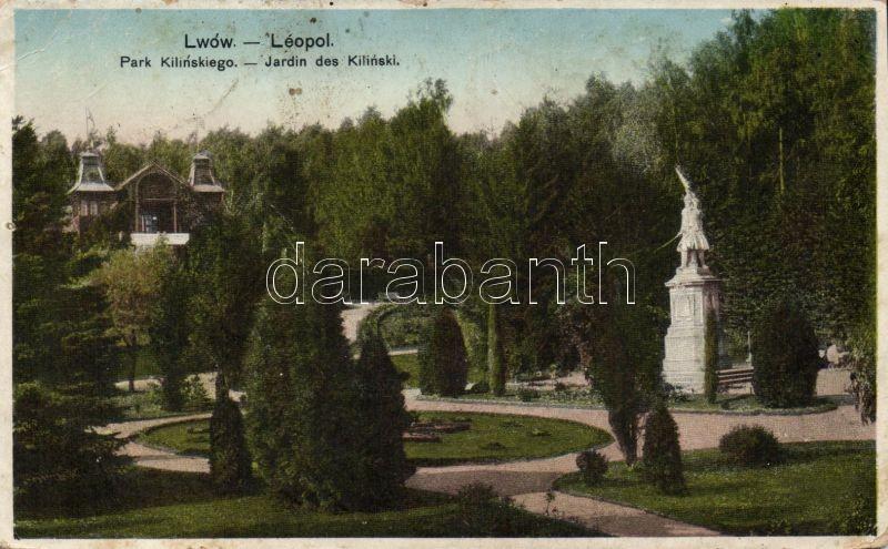 Lviv, Lwów; Kilinski park
