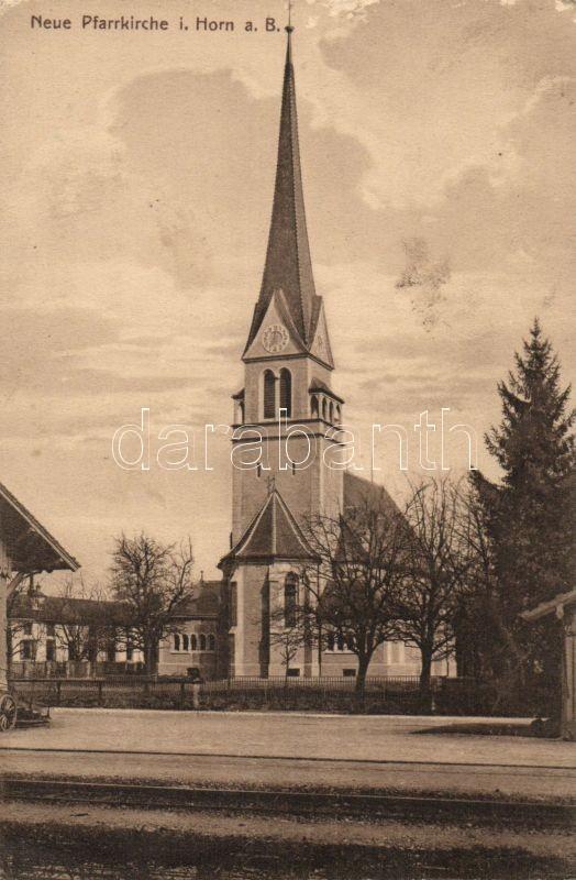 Horn, catholic church, Horn, katolikus templom