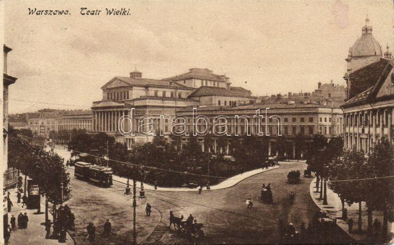 Warsaw, theatre, Varsó, Nagy színház