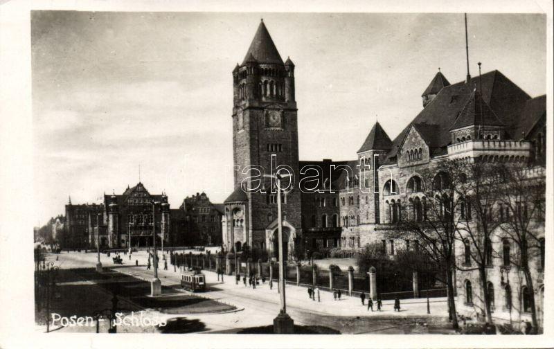 Poznan, castle, Poznan, kastély