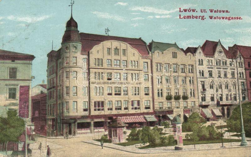 Lviv, Lwów, Lemberg; Ul. Walowa / street