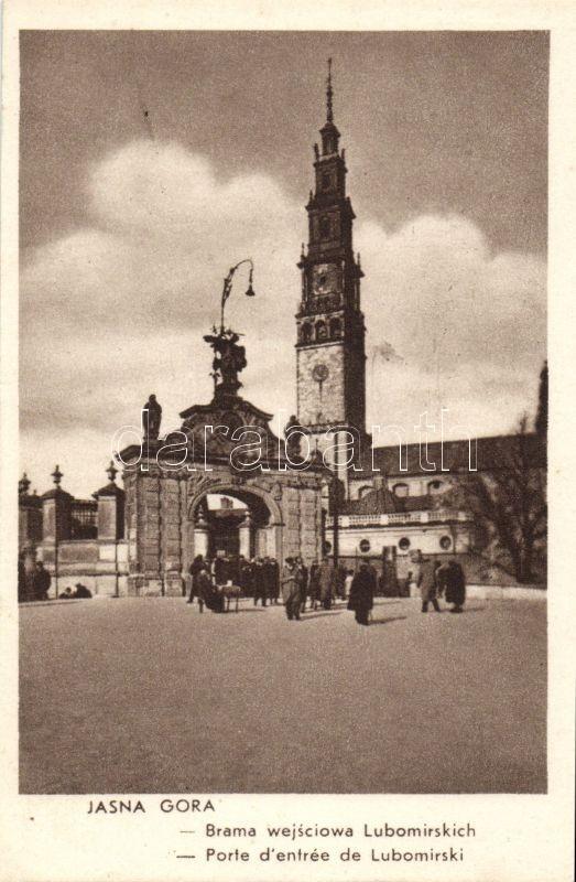 Jasna Gora, Brama wejsciowa Lubomirskich / gate
