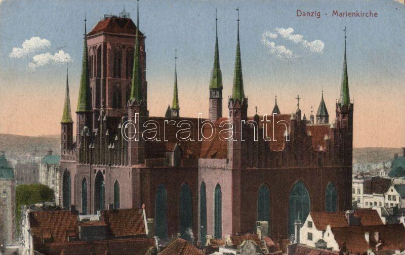 Gdansk, Danzig; Marienkirche / church