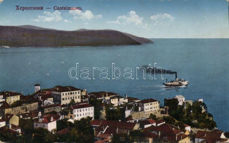 Herceg Novi, Castelnuovo; Hotel Bella Vista, steamship