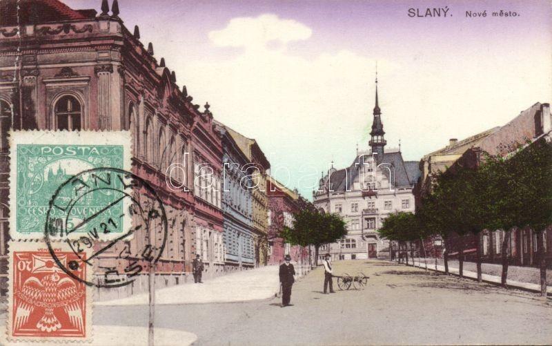 Slany, Nové mesto / New Town