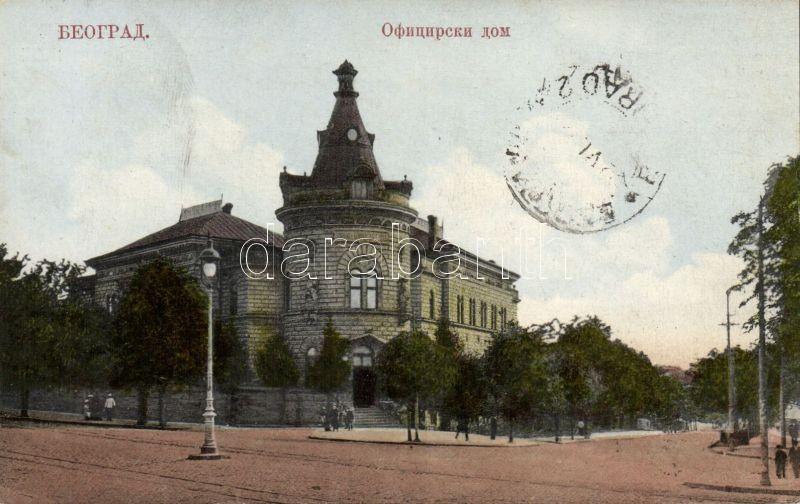 Belgrade, Oficirski dom / officers pavilion