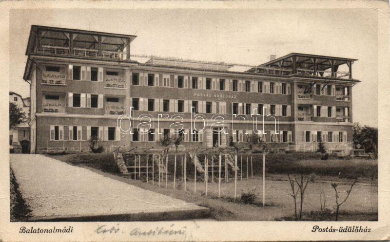 Balatonalmádi, Postás Üdülőház