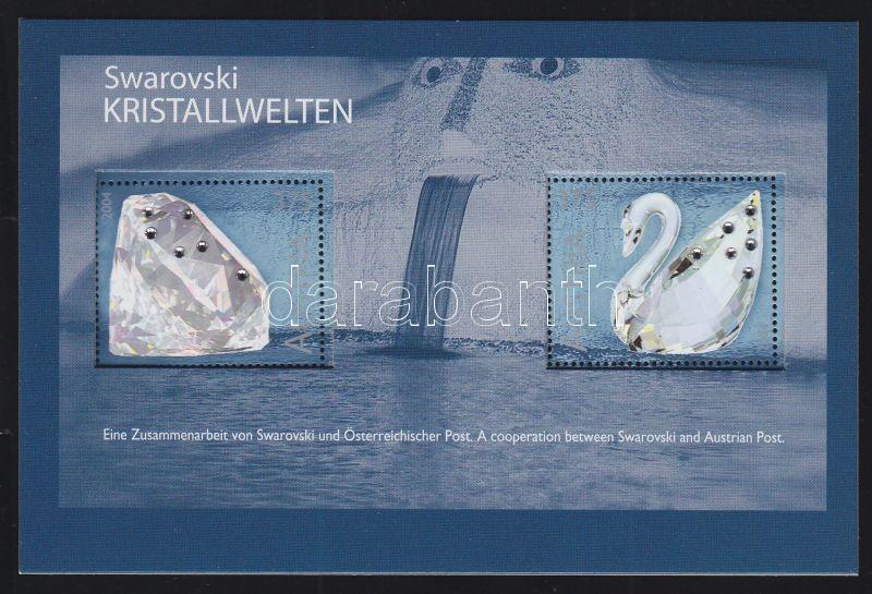 Swarovski crystal block, Swarovski kristályok blokk, Swarovski Kristallwelten Block