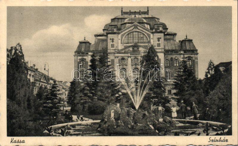 Kosice, Theater, Kassa, színház
