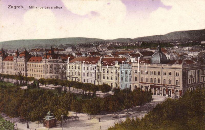 Zagreb, Mihanoviceva ulica / street