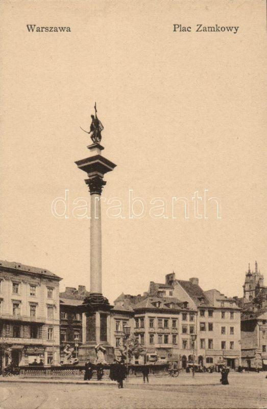 Warsaw, Warszawa; Plac Zamkowy / castle square