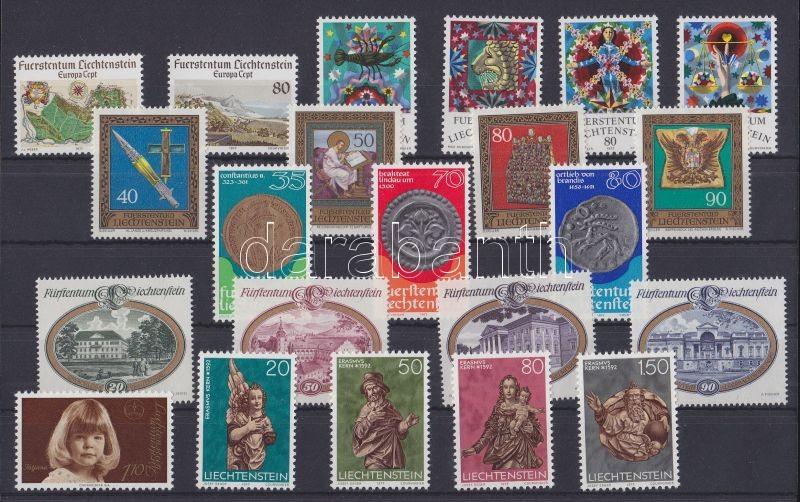 22 different stamps in complete sets, 22 klf bélyeg teljes sorokban, 22 verschiedene Marken in ganzen Sätzen