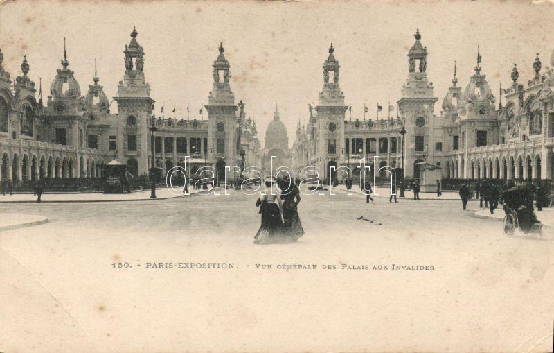 Paris, Exposition, Palais aux Invalides / Invalides Palace
