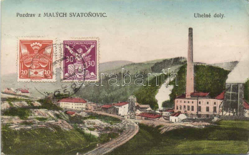 Malé Svatonovice, Malych Svatonovic; Uhelné doly / coal mines