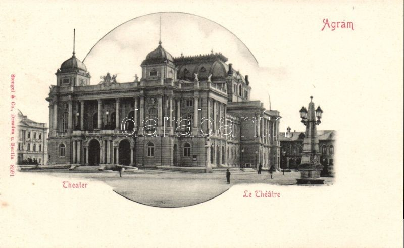 Zagreb, Theatre