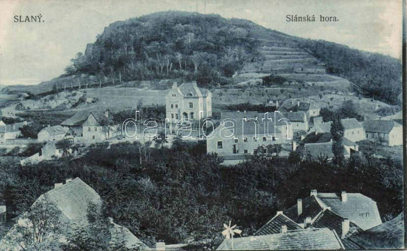 Slany, Slanska hora / mountain