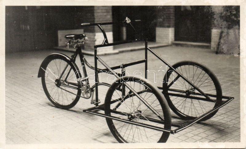 Budapest V. Váci utca 78. Magyar Gépkereskedelmi vállalat, tricikli photo